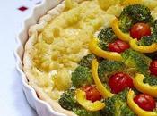 Torta salata broccoli cavolfiore