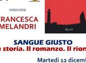 """dicembre 2017 presentazione libro """"Sangue Giusto"""" presso Gelateria Fassi Palazzo Freddo"""