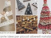 Blogmas Tante idee piccoli alberelli natalizi