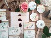 PARTECIPAZIONI NOZZE: partecipazioni matrimonio coordinato grafico Viviana Gabriel
