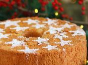 Fluffosa natalizia zenzero, limone cannella