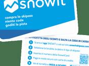 Snowit, niente code skipass