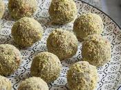 Contest #lamiacucinadelsenza: tartufini pistacchio, cocco matcha