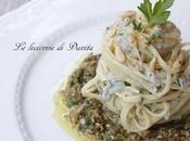 Spaghetti neonata pesto carciofi
