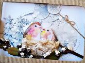 Tepore invernale nido pettirossi