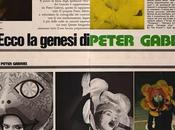 "Peter Gabriel ""Qui Giovani"" gennaio 1974"