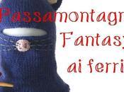 lilla's tutorials: passamontagna bimbo ferri FANTASY, spiegazioni Knitted baby balaclava cap, free pattern