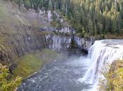 Dintorni Yellowstone: Mesa Falls, splendide cascate nell'Idaho