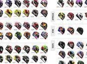 Photo MotoGP Helmets 2017 Season James Warren Moto Design