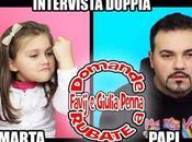 INTERVISTA DOPPIA Domande RUBATE FAVIJ GIULIA PENNA