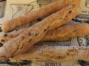 Vecchi Amori Filoncini alle Olive Nere Castelvetrano Forno Bread Batons