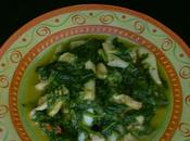 seppie spinaci (soupies spanaki)