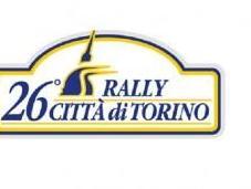 20-21 maggio, 26esimo edizione Rally citta' Torino