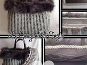 Crochet winter bags