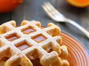 Waffles light all'arancia