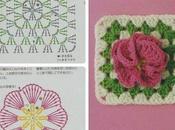 gentile richiesta...come fare maglia piastrelle crochet floreali
