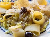 Calamarata senza glutine verza, finocchi olive
