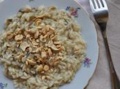 love food] Risotto funghi anacardi