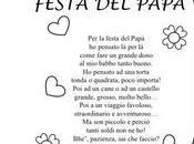Festa papà:poesia disegni