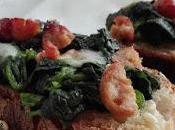 Crostoni pane verdure salsiccia