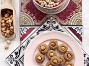 Biscotti proteici alla crema ceci nocciole (solo ingredienti)