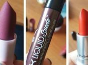 Lipsticks week-end swatches!