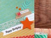[#Cardmaking] Biglietto compleanno adolescente