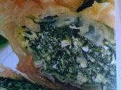 Fagottini pasta fillo ripieni spinaci ricotta