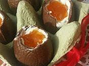 Uova cioccolato ripieno mascarpone.....idea dessert feste Pasqua