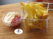 NUOVO VIDEO: Come preparare quasi patatine fritte cucchiaio d'olio nella friggitrice aria.