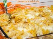 Pasta risottata senza glutine alla zucca salsiccia