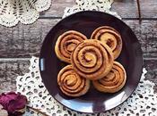 Cinnamon rolls farina farro lievito madre