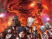 Primo poster trama secondo anime Godzilla