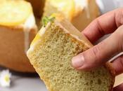 Chiffon Cake alle mandorle limone alta profumata