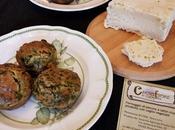 Muffin formaggio spinaci