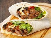 Burrito carne sapore messicano sfizioso originale