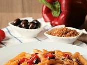 Pasta Peperoni Grigliati Olive