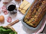 Plumcake Salato Cime Rapa Mozzarella