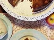 Torta mele alta soffice