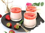 dessert yogurt greco fragole