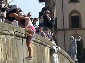 Jersey Shore Firenze: Deena fiume Arno pende