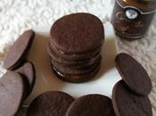 Biscotti cioccolato caffe' farciti