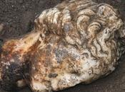 Ritrovata testa dell'Afrodite Doidalsas Parco Ostia Antica