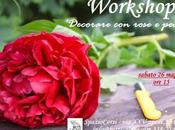 workshop floreale: 'Decorare rose peonie'