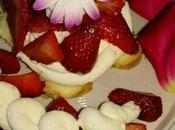 Chiffon Cake crema mascarpone fragole