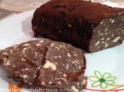 Salame cioccolato senza uova