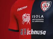 Rossoblu slim nuova maglia Cagliari 2018-2019