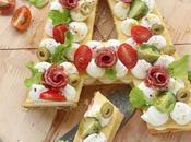 Cream tart salata come Anna, Amelia