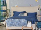 camera letto ispirazione marina: blue l'allestimento pensato nello store PerDormire Napoli