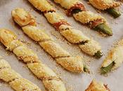 Bastoncini asparagi pasta sfoglia